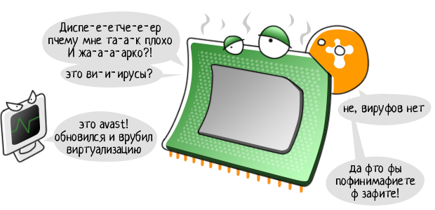 Обновление avast! 2015 или aswFe.exe грузит процессор на 50%