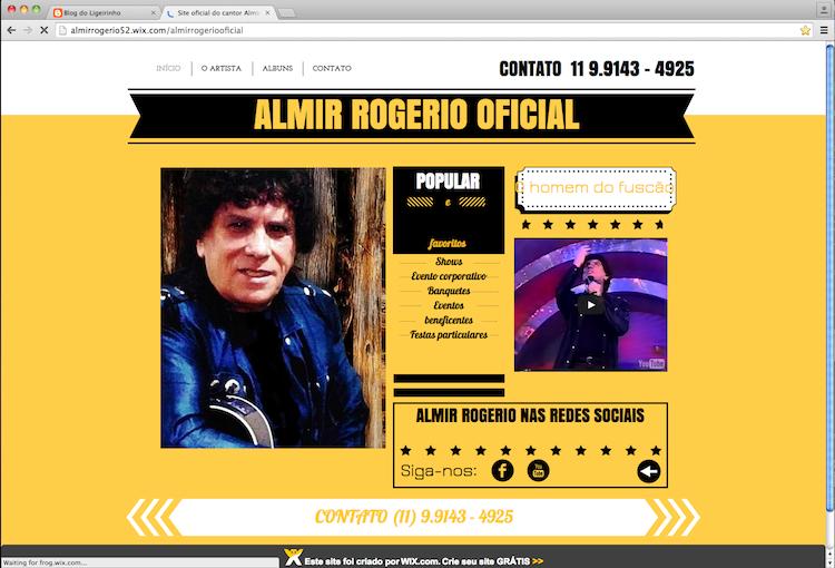 almir rogerio web site