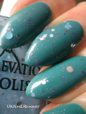 Elevation Polish Marmolada over Sinful Colors Rise & Shine