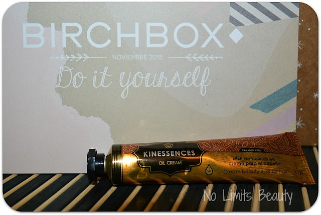 BirchBox Noviembre 2015 - Kinessences Oil Cream Elixir for hair