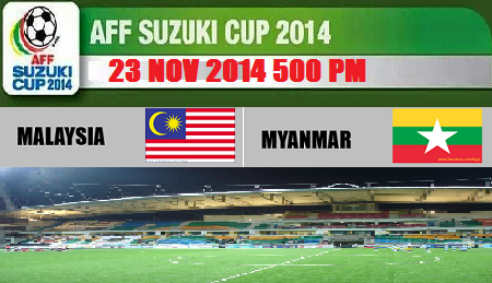 live Malaysia Vs Myanmar Piala AFF Suzuki 2014