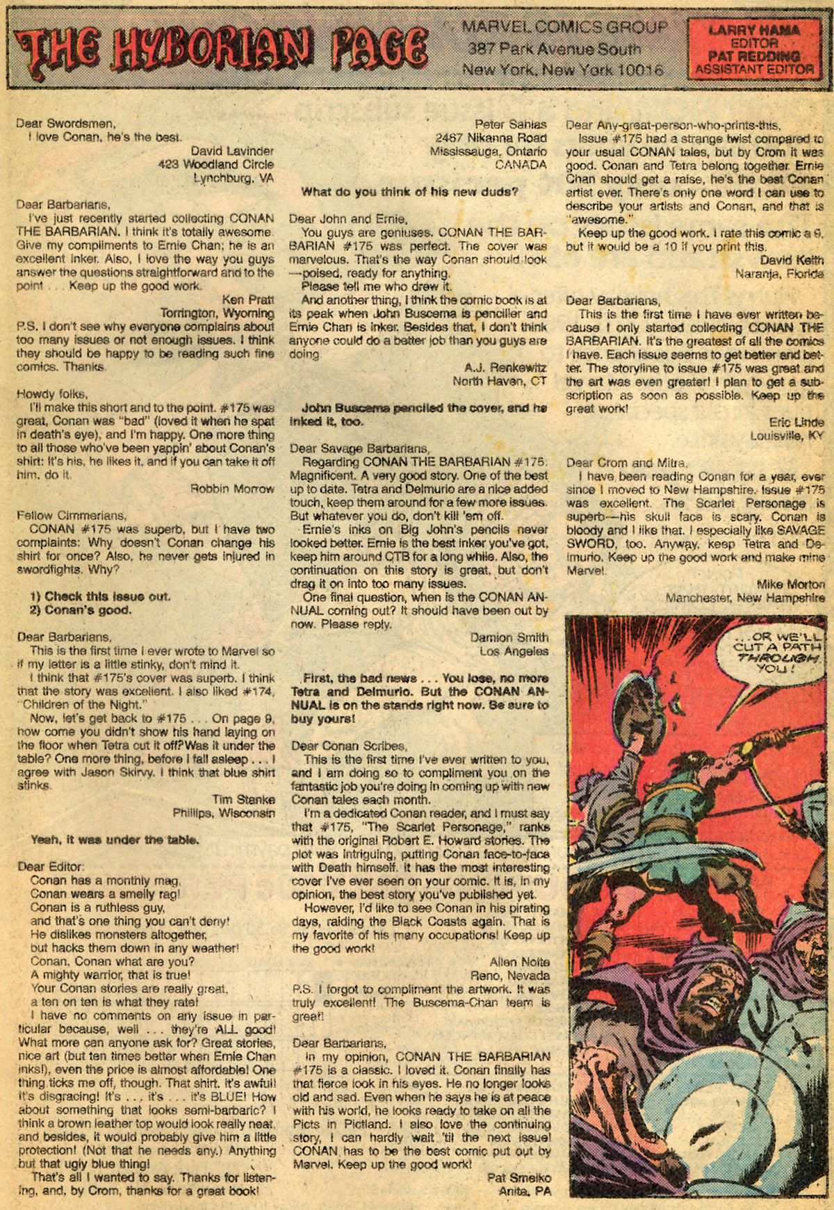 Conan the Barbarian (1970) Issue #179 #191 - English 24