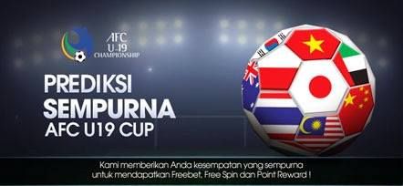 Tebak Prediksi Skor Sempurna di AFC CUP U-19 di M88