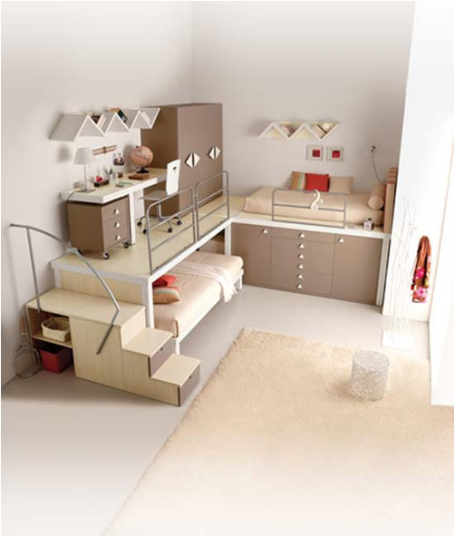 Cool modern teen girl bedrooms room design ideas - Amazing teenage girl desks ...