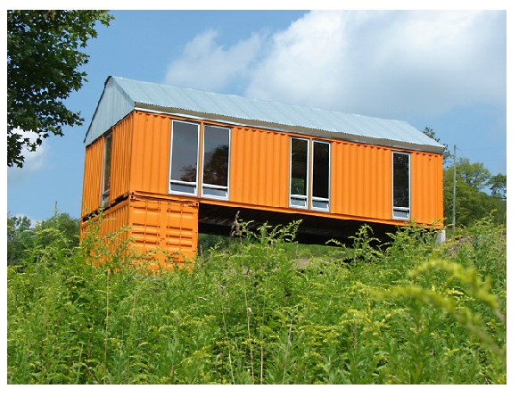 Two 40 ft steel container home design joy studio design gallery best design - Ft container home ...