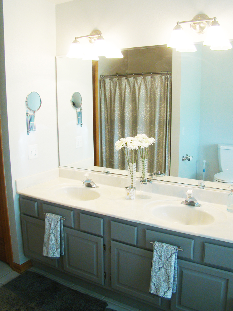 Skoots and cuddles my budget bathroom makeover - Small bathroom makeovers on a budget ...