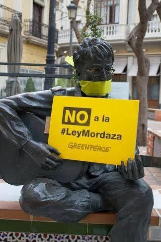 NO A LA LEY MORDAZA DEL PP