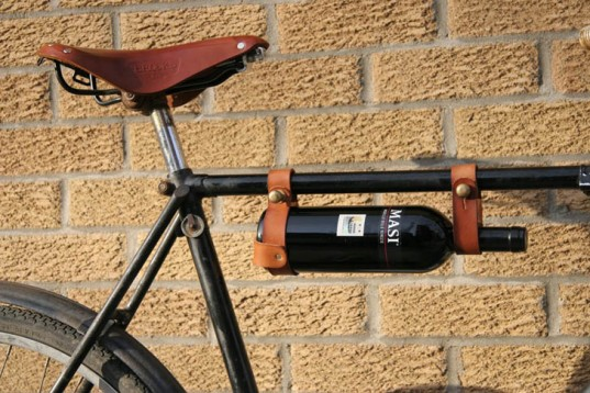 cycling wine holder