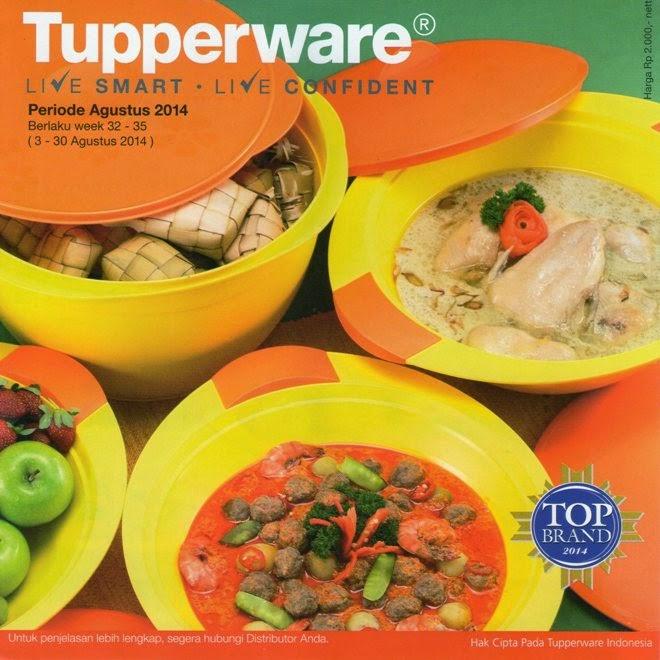 Katalog Tupperware Activity Agustus 2014