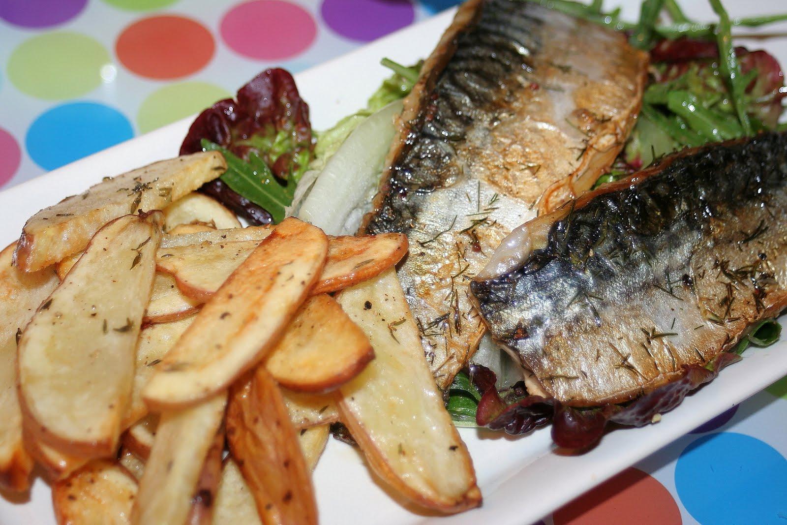 Mat manning 39 s air rifle hunting mackerel and chips for Mackerel fish recipe
