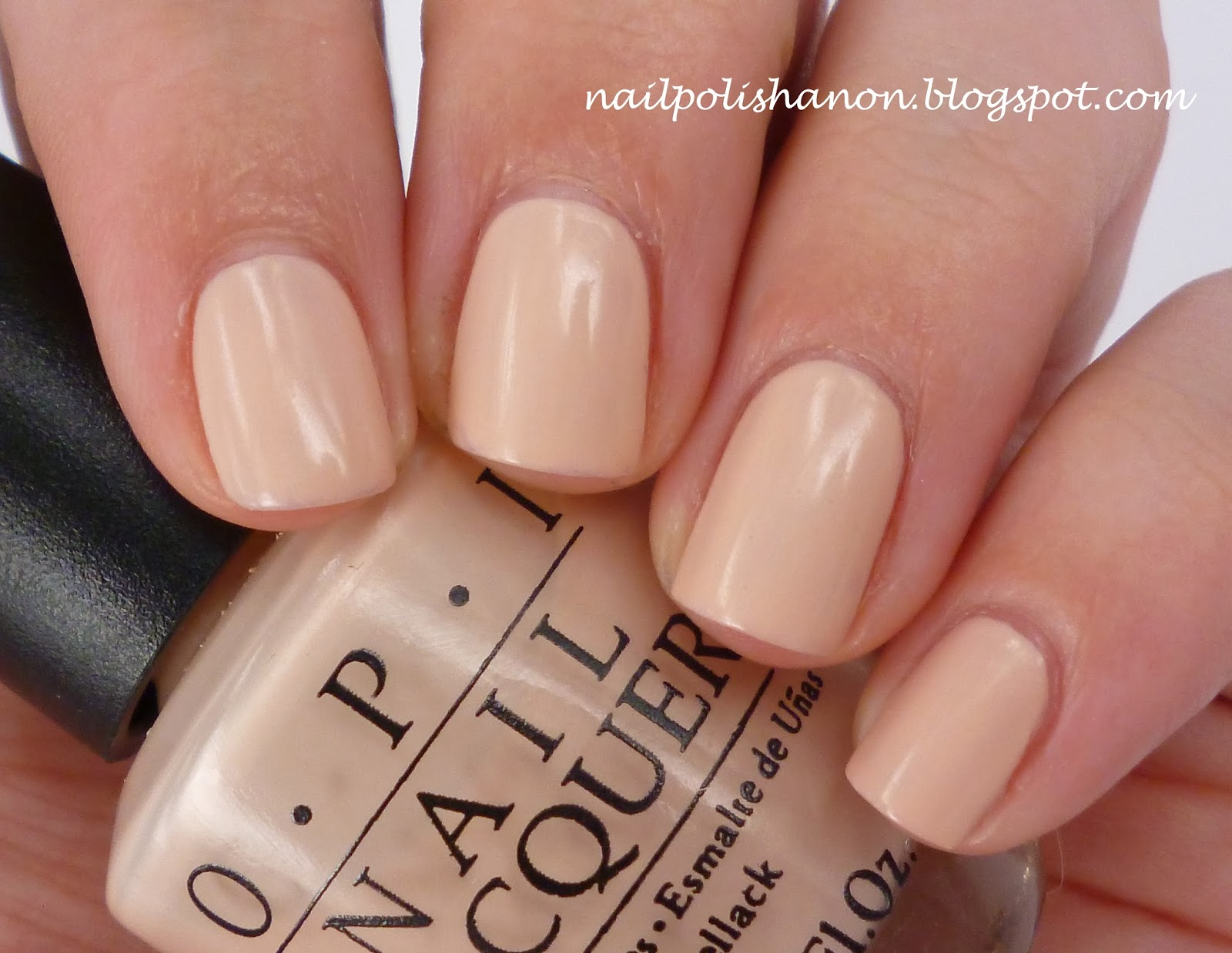 Nail Polish Anon: My OPI Delicates: Let Them Eat Rice Cake & Have A ...
