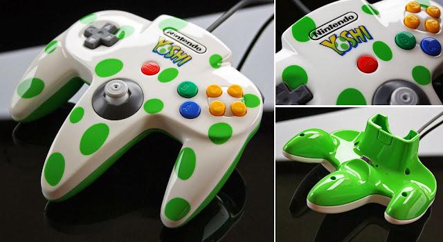 Fan-Art: Controle do N64 do Yoshi Custom_yoshi_n64_controller_by_zoki64-d774mha
