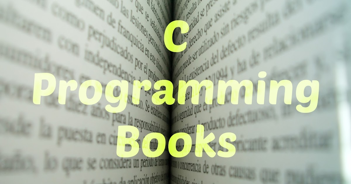 5 best c programming books a c programmer must read