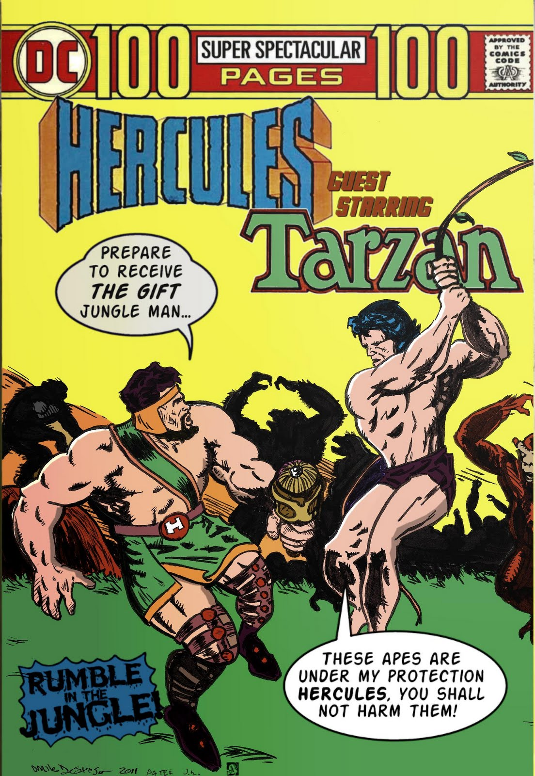 The Mighty Blog of HERCULES: HERCULES vs TARZAN