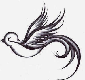 ♥  ♫ ♥  Sparrows symbolize love, dedication and trust. Sparrows mate for life and will always return home no matter how far they travel. They should always be tattooed in pairs. I have a pair tattooed on my ribs.  ♥  ♫ ♥