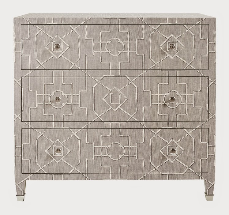 These chests are customizable by the inch with many of the Thibaut wall coverings. Thibaut offers additional features like drawer configuration, ...