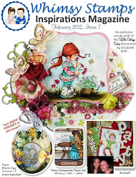 Check out the latest Whimsy Stamps Inspirations Magazine