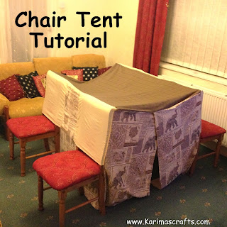 chair tent tutorial muslim blog