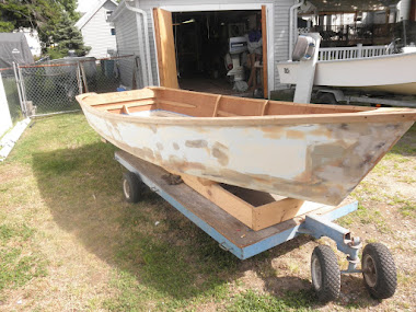Before - 1955 Chesapeake Skiff 13&#39;