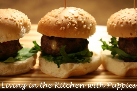 ... : Grilled Cheese-Stuffed Meatball Sliders from I Love Meatballs