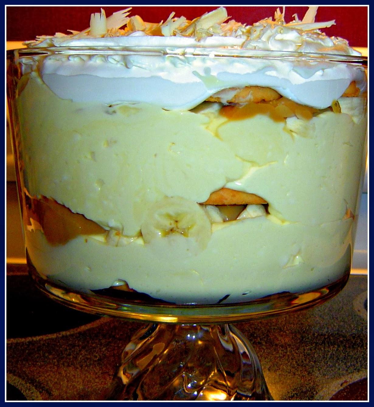 Sweet Tea and Cornbread: White Chocolate Caramel Banana Pudding and ...