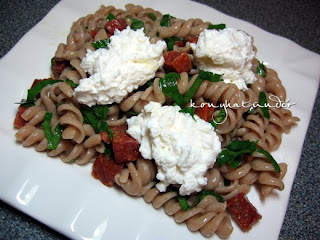 chorizo-and-ricotta-pasta
