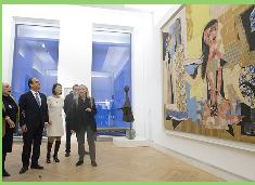"""Presidente francés inaugura nuevo museo Picasso en París: Es """"uno de los más bellos del mundo"""""""