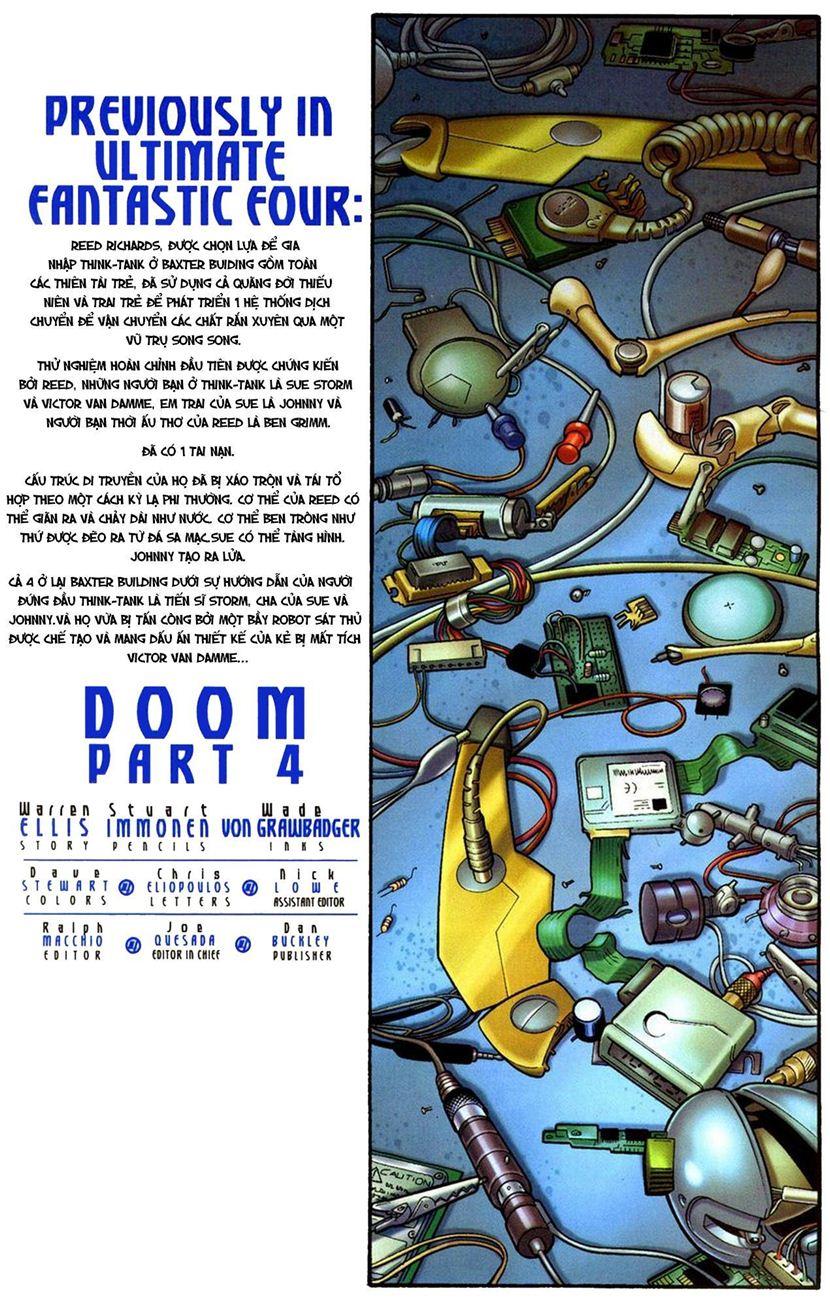 Ultimate Fantastic Four chap 10 - Trang 3