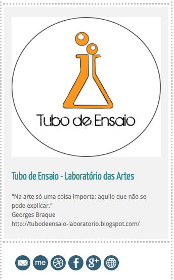 O Tubo de Ensaio está também no Tumblr