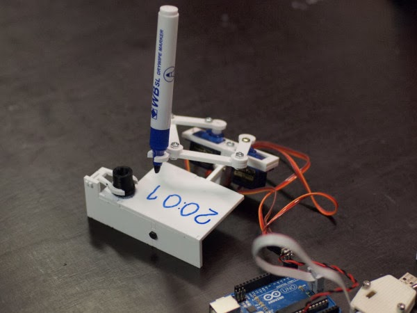 Plotclock relogio com Arduino