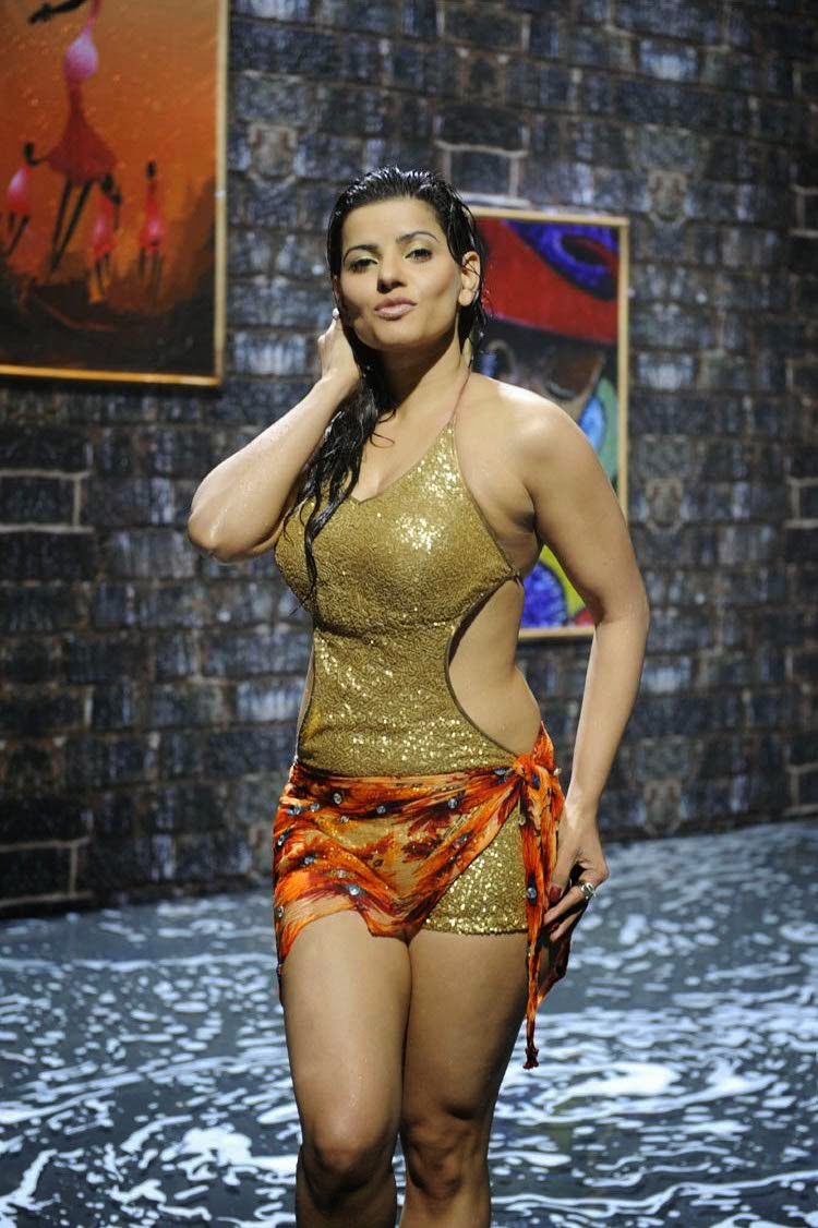 the south indian actress madhu sharma latest hot and spicy wet bikini