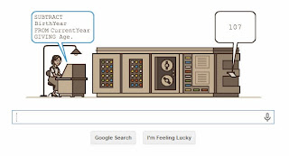 Google Doodle Honours Grace Hopper's 107th Birthday