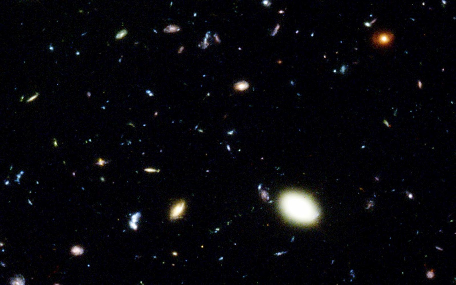 hubble deep field wallpaper 1600x1200-#8