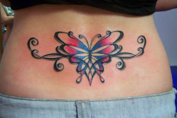 Beautiful butterfly tattoo designs tattoos facebook for Freedom tribal tattoos