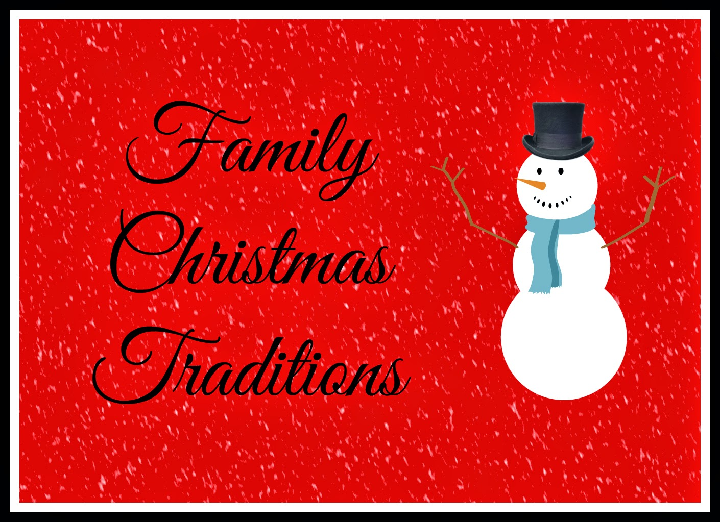 Keeping up with the Kiddos: Family Christmas Traditions