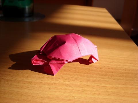 Оригами черепаха (автор: Robert J. Lang)
