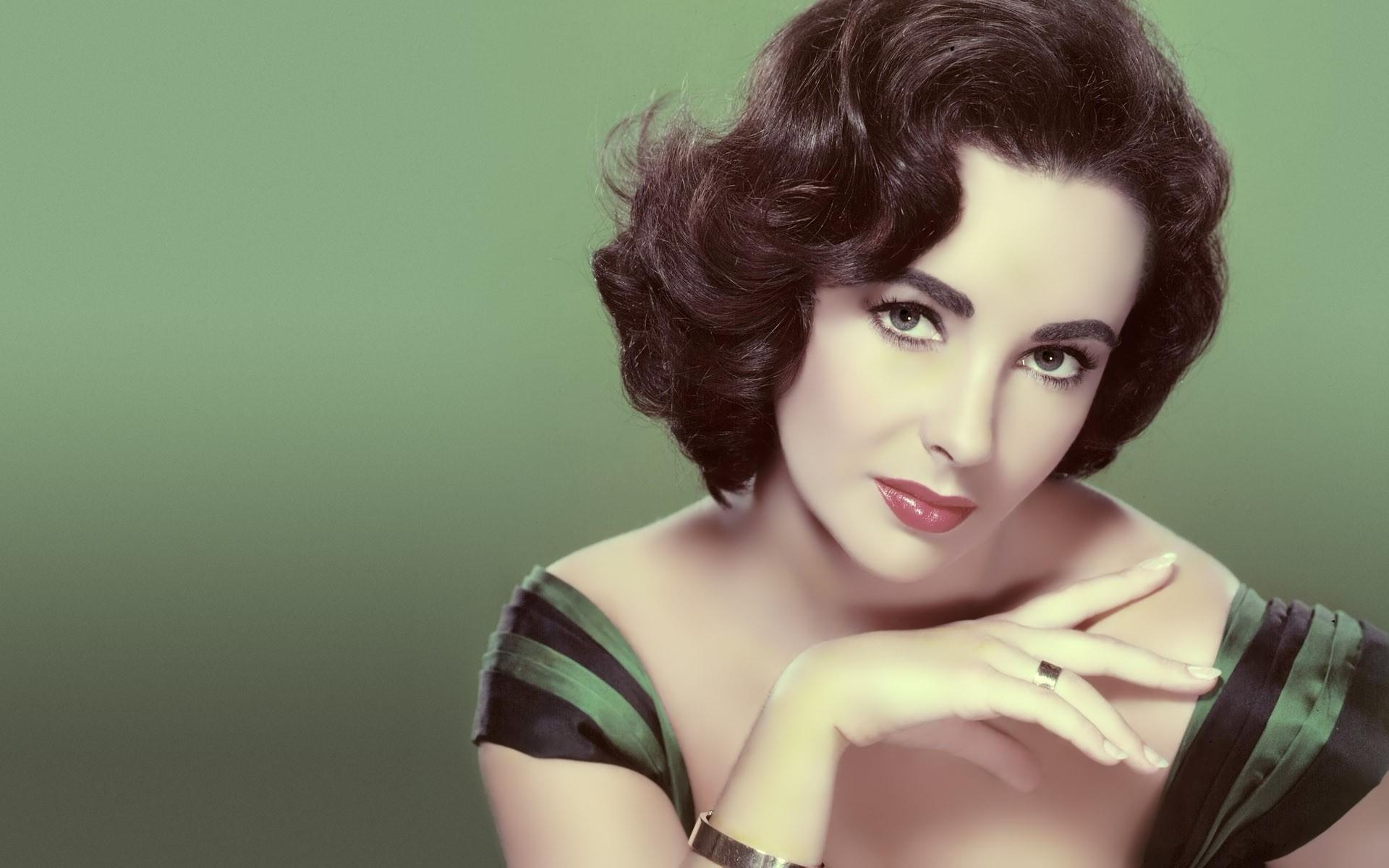 Elizabeth Taylor Actress Full Hd Desktop Wallpapers 1080p