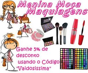 Menina Moça Maquiagem