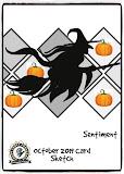 October 2019 Card Sketch Optional