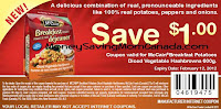 Mccain printable coupon breakfast potatoes