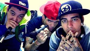 Grupo de rap e hip hop Pollo
