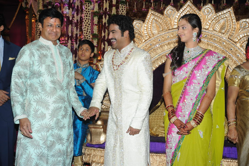 Celebrities  Jr NTR  Pranathi s Marriage wallpapers