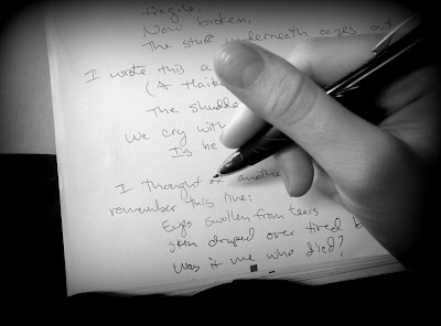 writing as a tool to soothe grief and heal