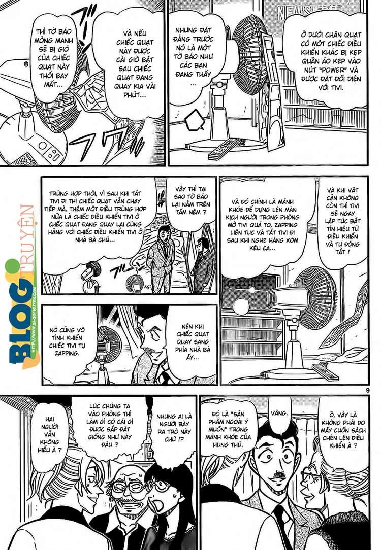 Detective Conan - Thám Tử Lừng Danh Conan chap 789 page 10 - IZTruyenTranh.com