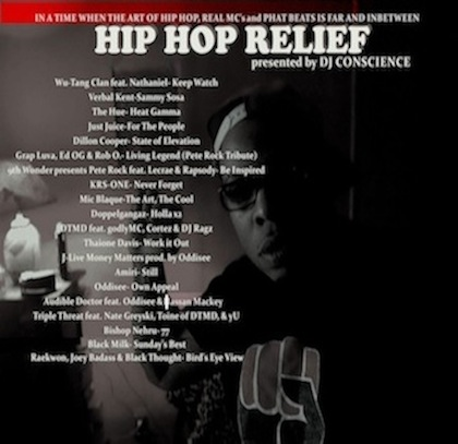 DJ CONSCIENCE's HIP HOP RELIEF VOL.1