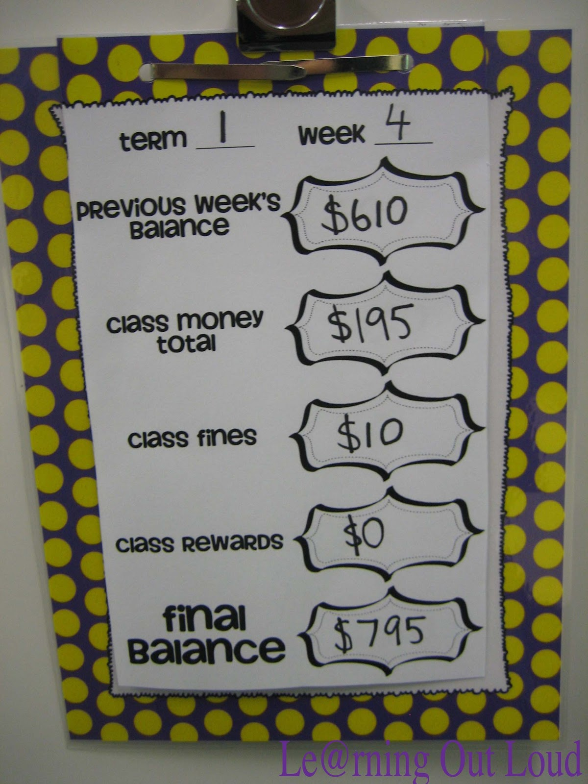 Classroom Reward Ideas That Don T Cost Money ~ Le rning out loud reward kids with money but it won t