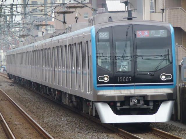 東京メトロ東西線 快速 中野行き5 15000系