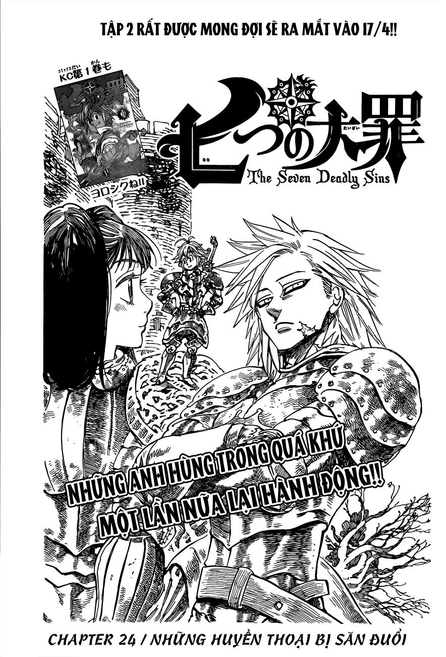 Nanatsu no Taizai - Thất Hình Đại Tội chap 24 page 1 - IZTruyenTranh.com