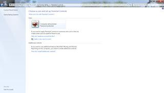 Windows 7 වලදී User Account වල  භාවිත කාලය සීමා කිරීම.