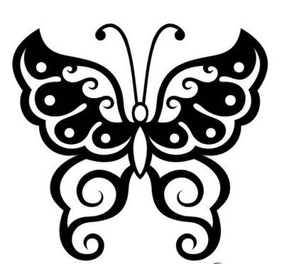 tattoos de tribales. Tattoo Designs Butterfly
